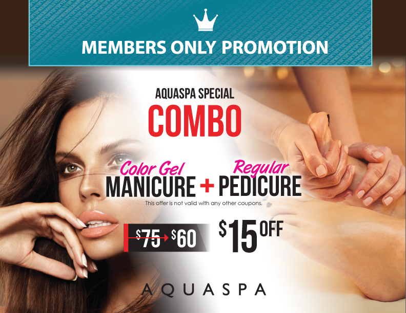 October Member's Only Promotion