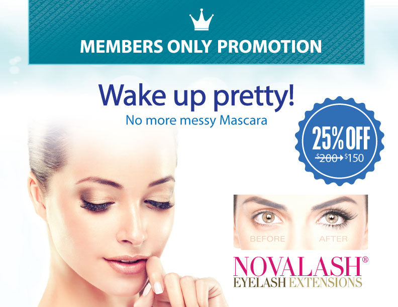 February Member's Only Promotion
