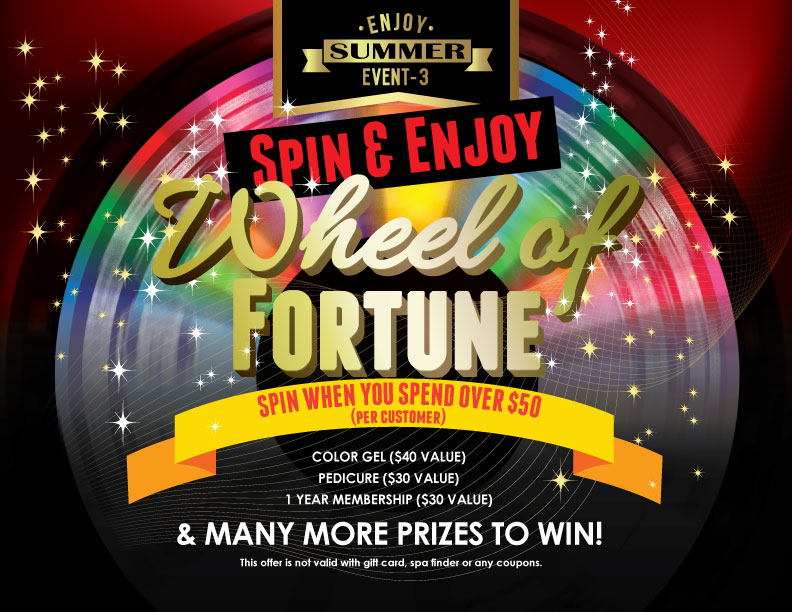 Summer Event 3 – Spin & Enjoy Wheel of Fortune