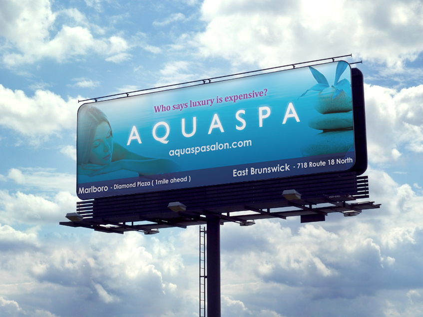 AQUASPA Billboard