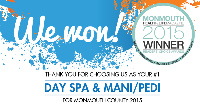 AQUASPA-Marlboro Ranked #1 Day Spa in Best of Monmouth county