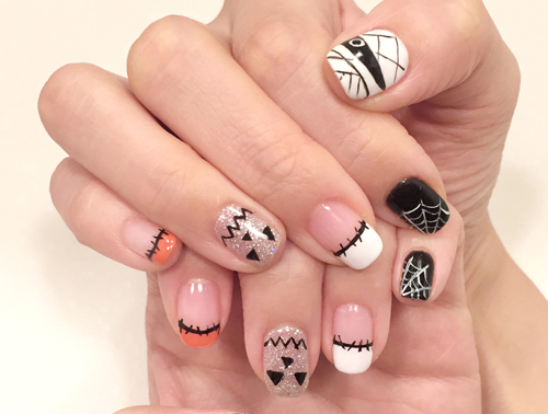 Halloween Nail Art - Halloween Nail Art - AQUASPA