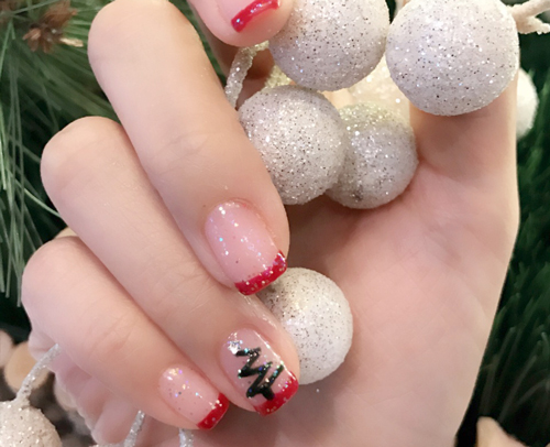 Holiday Nail Art 1