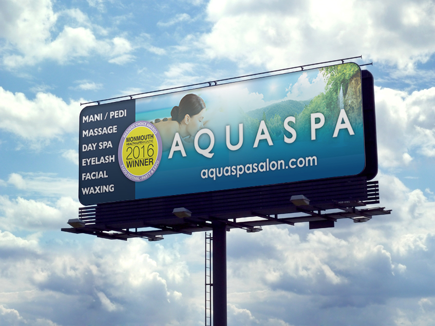 NEW AQUASPA Billboard