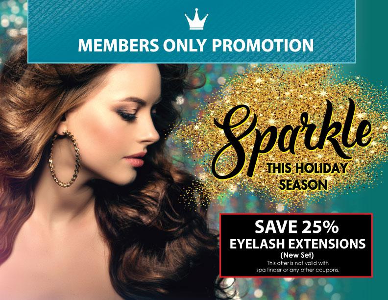 December Member's Only Promotion