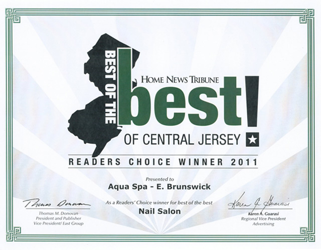 Best of the Best – Readers choice winner 2011