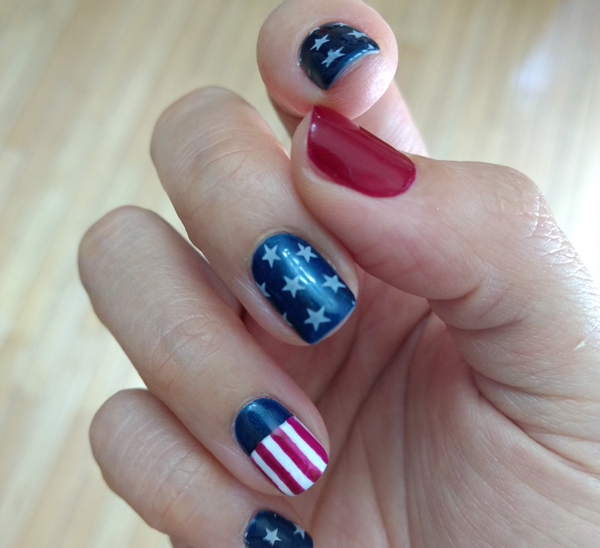 Fourth of July Nail Art - AQUASPA