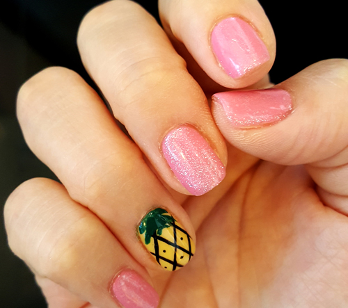 Pineapple Nail Art - Pineapple Nail Art - AQUASPA