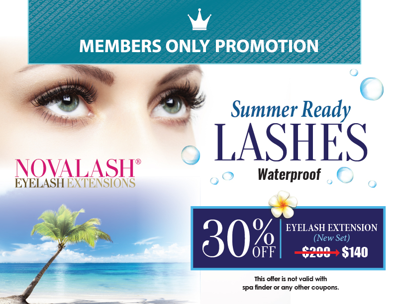 August Member's Only Promotion