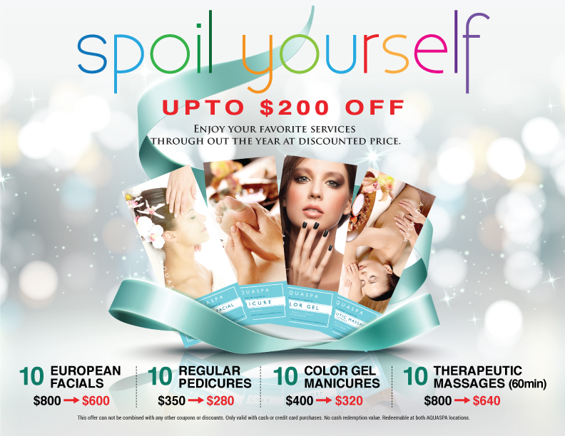Spoil Yourself – Voucher Promotion