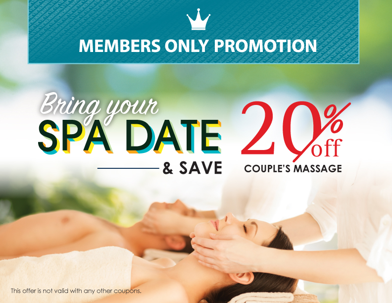 August Memeber's Only Promotion